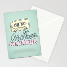 Mixtape mon amour Stationery Cards
