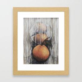 Tangerines Framed Art Print