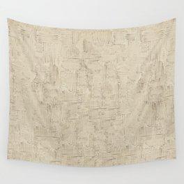 Van Gogh Strokes Abstract Print Wall Tapestry