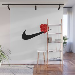 ROSE SWOOSH Wall Mural