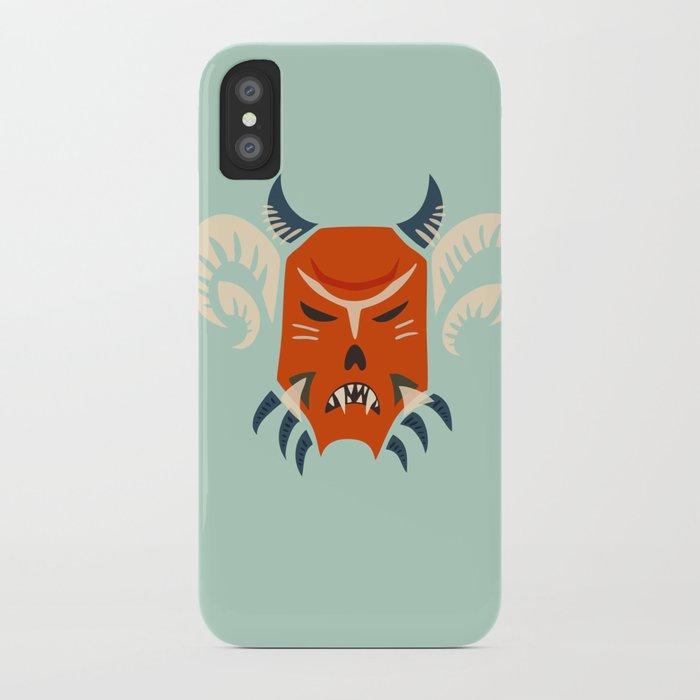 Kuker Evil Monster Mask iPhone Case