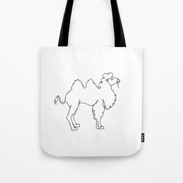 Lusty Camel Tote Bag