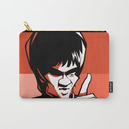Kung fu master orange Carry-All Pouch
