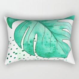 monstera monday Rectangular Pillow