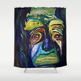 Guilt Is Irredeemable.  Shower Curtain