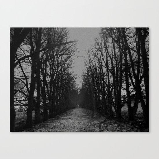 The Shortcut Canvas Print