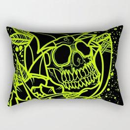 Neon Reaper Rectangular Pillow