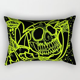Neon Reaper Rectangular Pillow