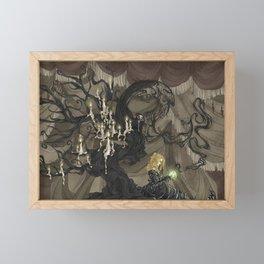 Midnight Circus: The Fortune Teller Framed Mini Art Print