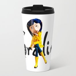 Coraline sitting Travel Mug