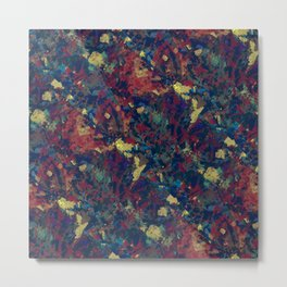 Abstract painting revolution Metal Print