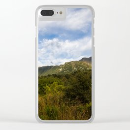 Scenic Greenery- New Zealand Clear iPhone Case