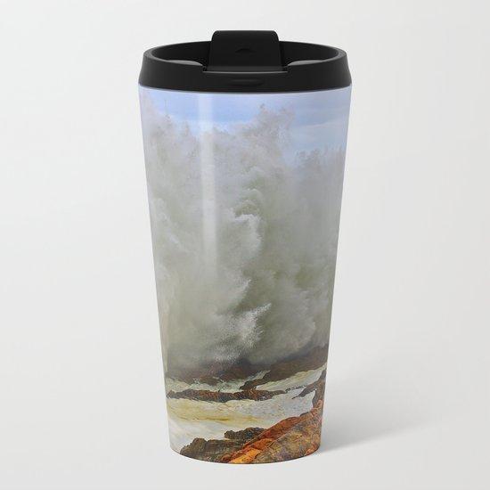 Super Wave Metal Travel Mug