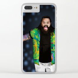 Bray Wyatt Clear iPhone Case