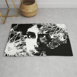 The Flower Girl - Abstract Female Art Rug