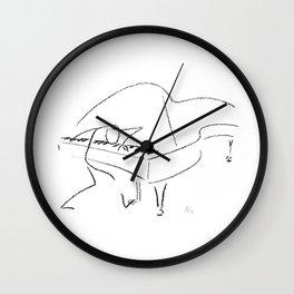 Keith Jarrett – Improvisations in Jazz Wall Clock