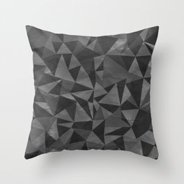 Dirty Geo Throw Pillow