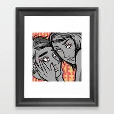 She Dreams Razor Sharp Framed Art Print