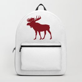 Moose: Rustic Red Backpack