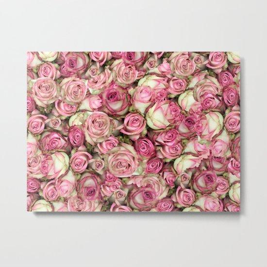 Your Pink Roses Metal Print