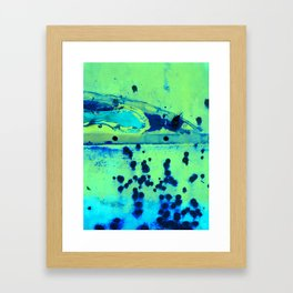 Riddled with Rust Margarita Framed Art Print