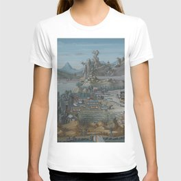 Old Chinese LANDSCAPE T-shirt