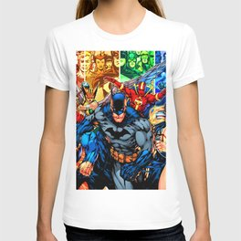 a collection of heroes T-shirt