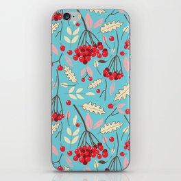 Guelder rose iPhone Skin