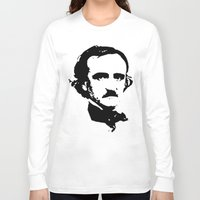 edgar allan poe Long Sleeve T-shirts featuring edgar allan poe by b & c