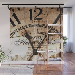 Vintage Paris Wall Mural