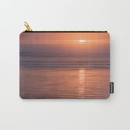 Sunset Sings Quietly Carry-All Pouch