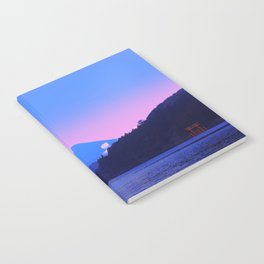 Mount Fuji Sunrise Notebook