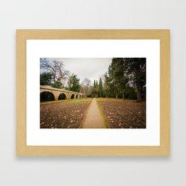 Sigue el camino Framed Art Print