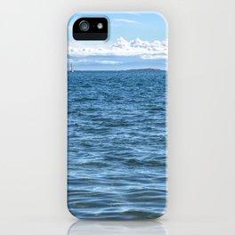 Voilier Blanc iPhone Case