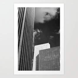 albany, city of the future... Art Print