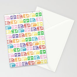 Camp Color Stationery Cards