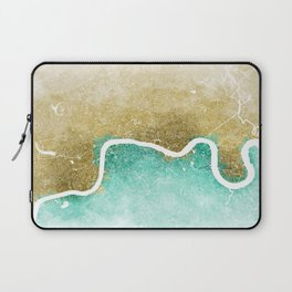 London Abstract Map #2 Laptop Sleeve