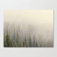mountain Canvas Prints featuring Mountain Haze by Kurt Rahn