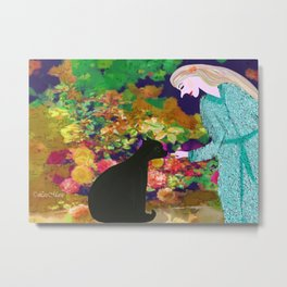 Treats for the Sweet Metal Print