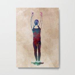 Gymnastics #gymnastics #sport Metal Print