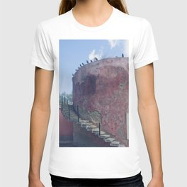 Birds on the wall T-shirt