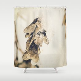 Ice on the wings Shower Curtain