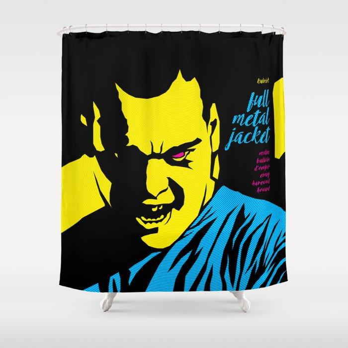 THE FILMS OF KUBRICK :: FULL METAL JACKET Shower Curtain