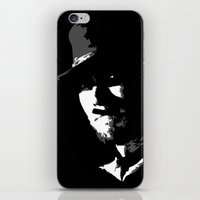 clint barton iPhone & iPod Skins featuring CLINT by DRMdesign