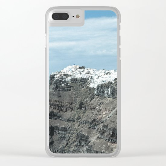 Santorini, Greece 16 Clear iPhone Case