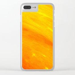 Warm Emotion Clear iPhone Case