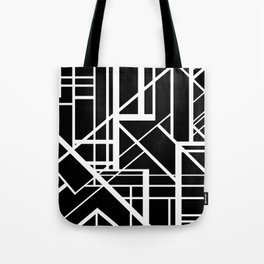 Roadway Of Abstraction - Interstate Abstract Path Tote Bag
