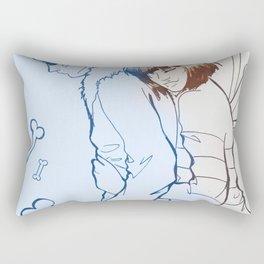 Undertale - SansXfrisk Rectangular Pillow