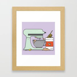 Mixed Feelings Framed Art Print