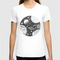 sport T-shirts featuring SPACE & SPORT by Kiley Victoria
